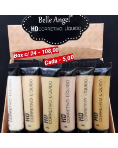 Corretivo líquido HD belle angel box c/24 108,00